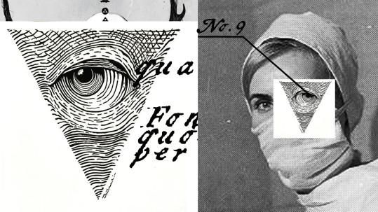'The  Plague' – documentary feature film in development, dir. Monika Kotecka. Director's moodboard. Collage by Hubert Kielan.